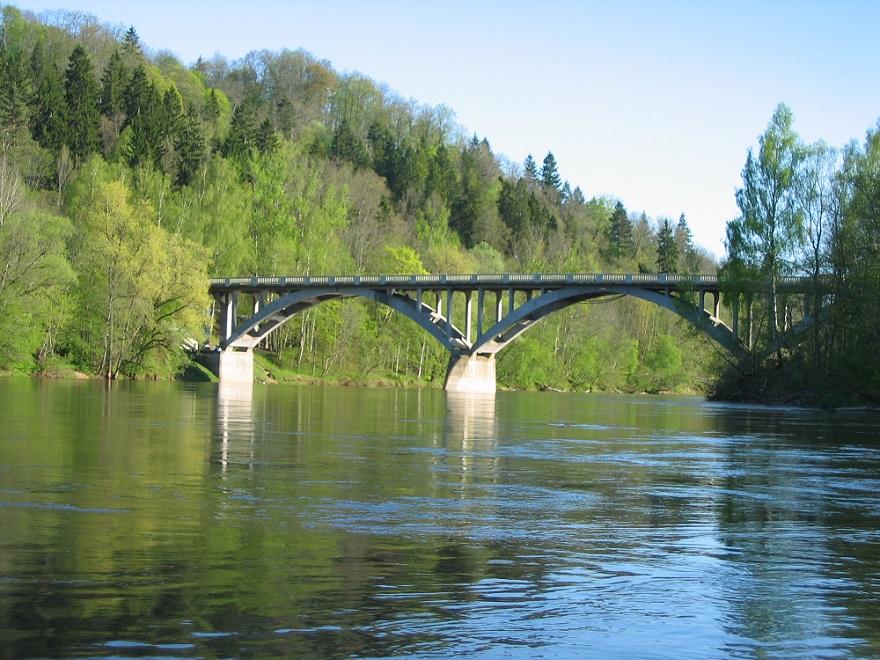 Siguldas tilts 364 km