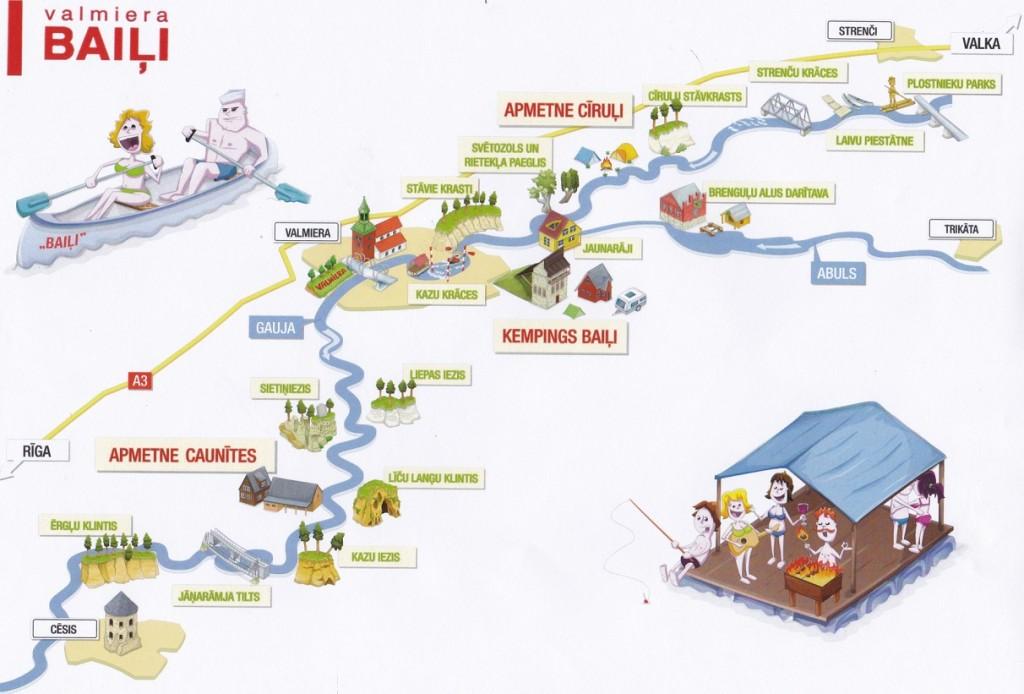 zīmētā karte